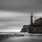 Morro Lighthouse Fotografie-Druck von Moises Levy