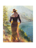 Lady of the Lake Giclee Print by Steve Henderson