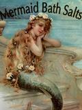 Mermaid Bathsalts Giclee Print