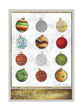 Merry Merry Christmas 2 Stampa giclée di Megan Aroon Duncanson