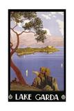 Gardasjøen Giclee-trykk