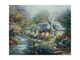 Little River Cottage Reproduction procédé giclée par Nicky Boehme
