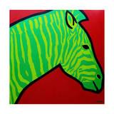 Irish Zebra Giclee Print by John Nolan
