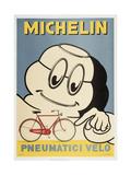 Michelin-Reifen Giclée-Druck