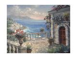 Mediterranean Elegance Giclee Print by Nicky Boehme