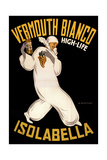 Isolabella Vermouth Bianco Giclee-trykk