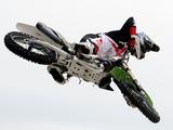 Motocross I Fotografisk tryk af Karen Williams