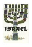 Israel Travel Giclée-Druck
