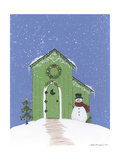 Light Green Outhouse Giclee Print by Debbie McMaster