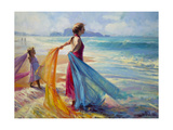 Into the Surf Giclee Print by Steve Henderson