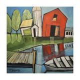 Lakeside Farm Giclée-Druck von Tim Nyberg