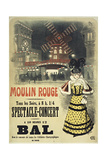 Moulin Rouge Bal Roedel Reproduction procédé giclée