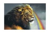 Lion of Judah Reproduction procédé giclée par Spencer Williams