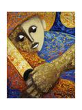 Jibaro and Luna Giclee Print by Oscar Ortiz