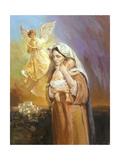 Mary Lámina giclée por Hal Frenck