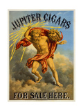 Jupiter Cigars for Sale Here Giclee Print