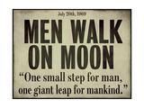 Moonwalk Reproduction procédé giclée
