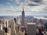 NYC the Empire Fotografisk trykk av Nina Papiorek