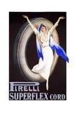 Pirelli Tires Giclée-Druck