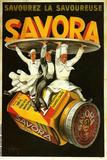 Savora Waiters Reproduction procédé giclée