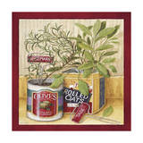 Olives and Oats Giclee Print by Lisa Audit