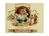 Princess Cig Giclee Print