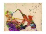 Saxophone Giclee Print by Mark Ashkenazi