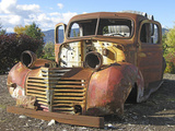 Old Wine Truck Photographic Print by Larry Hunter
