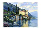 Reflections of Lago Maggiore Reproduction procédé giclée par John Zaccheo
