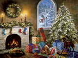 Not a Creature Was Stirring Reproduction procédé giclée par Nicky Boehme