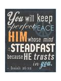 Psalm Saying II Stampa giclée