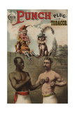 Punch and Chew, 1886 Giclee Print