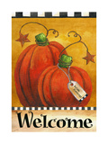 Pumpkin Autumn Welcome Reproduction procédé giclée par Melinda Hipsher
