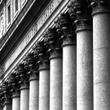 US Court Columns, NYC Photographic Print by Jeff Pica