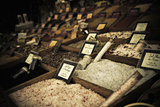 Salt Shelves Fotografie-Druck von Sebastien Lory