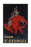 Rhum St Georges Giclée-Druck