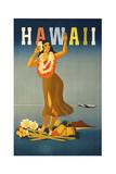 Trav Hawaii Giclée-tryk
