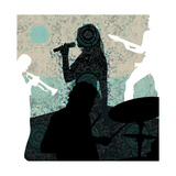Singing Giclee Print by Teofilo Olivieri