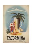 Taormina, Sicily Gicléetryck