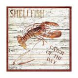 Shellfish II Lámina giclée por Karen Williams