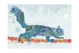 Squirrel Giclee Print by Teofilo Olivieri