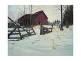 Oxford Barn Reproduction procédé giclée par Bruce Dumas