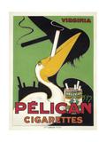 Pelican cigarettes Giclee-trykk