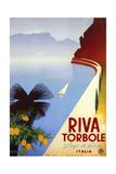 Riva Torbole Giclée-Druck