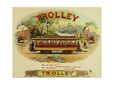 Trolley Cigars Giclee Print