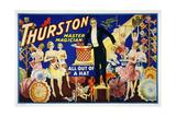 Thurston, Master Magician Giclée-Druck