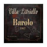 Villa Littriello Reproduction procédé giclée par Karen Williams