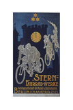 Vintage Bicycle Giclée-Druck