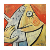 Smile Giclee Print by Tim Nyberg