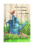 Wren Watercan, Psalm Giclee Print by Melinda Hipsher